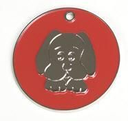 Dog Face Pet Tag