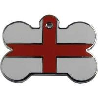 England Flag Pet Tag